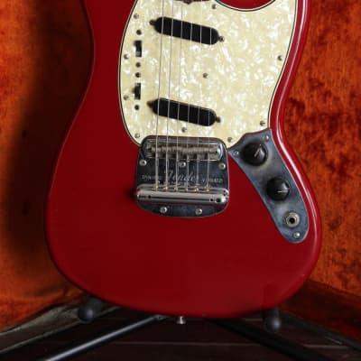 Fender Mustang Vintage 1966 Dakota Red Electric Guitar for sale