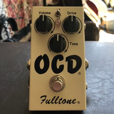 Fulltone OCD V1 Series 6 Obsessive Compulsive Drive Pedal 1.6