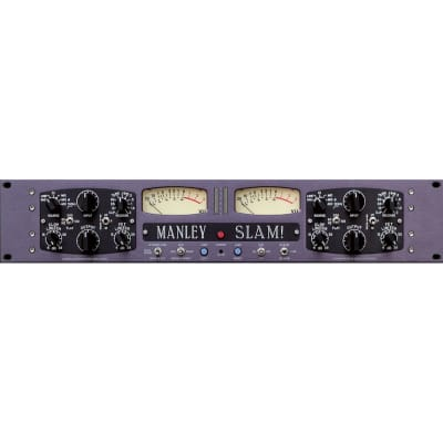 Manley SLAM! Limiter & Microphone Preamp