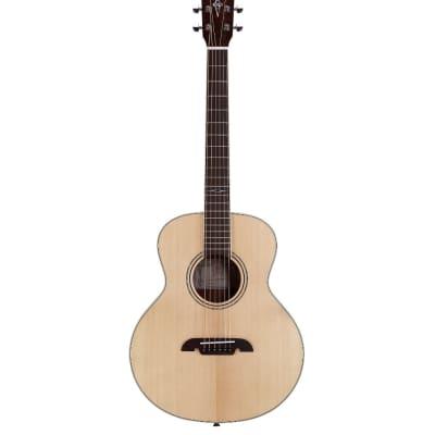 Alvarez Artist Little Jumbo Travel Guitars w/deluxe Gig Bag LJ2 for sale