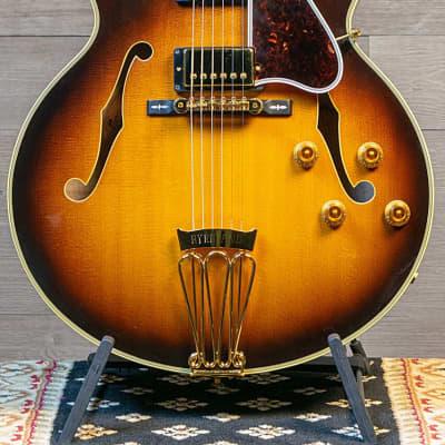 Gibson Byrdland Sunburst Gold Hardware 1991