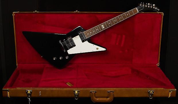 used gibson explorer 120 black ebony electric guitar reverb. Black Bedroom Furniture Sets. Home Design Ideas