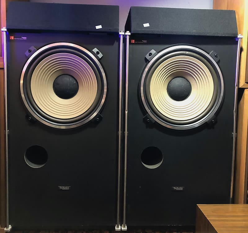 Technics SB-6000A Two Way Vintage Stereo Speaker System 1976-1979