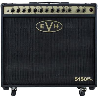 "EVH 5150 III S EL34 3-Channel 50-Watt 1x12"" Guitar Combo"