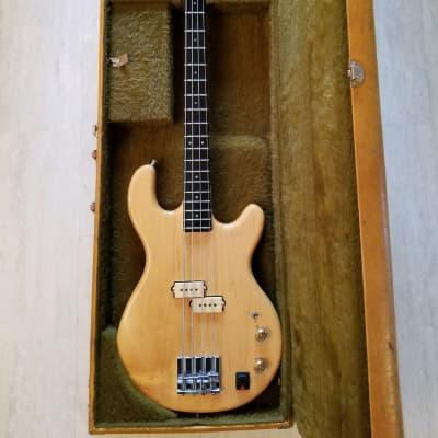 1979 USA Kramer DMZ 4001 Aluminum Neck Electric Bass Guitar with Original Case for sale