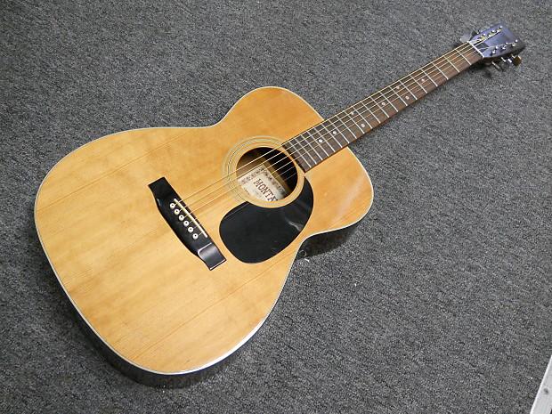 Vintage Montaya F 15 Acoustic Guitar Auditorium 000 Style