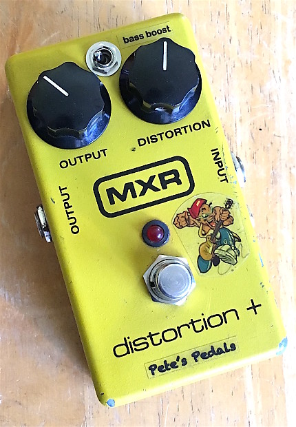 1994 MXR M104 Distortion + with Pete's Upgrades and Bass Boost