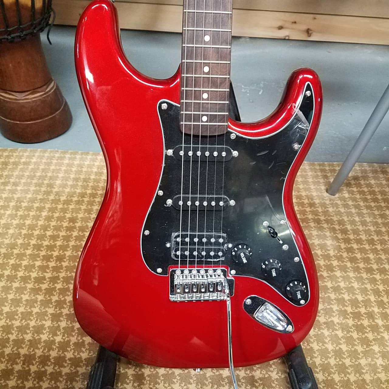 squier affinity series stratocaster red ssh reverb. Black Bedroom Furniture Sets. Home Design Ideas