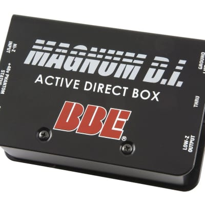 BBE Magnum DI Active Direct Box