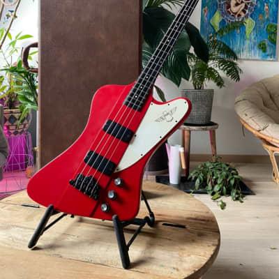 Rare Gibson Thunderbird 1991 Cardinal Red OHSC