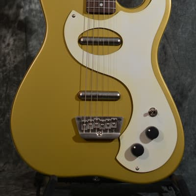 Danelectro '63 Reissue Rare Gold D63 Electric Guitar w FAST n Free Shipping