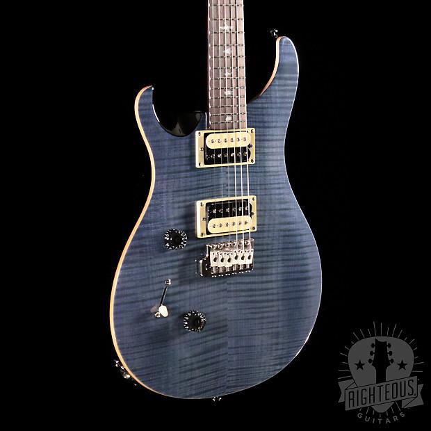 se custom 24 left handed whale blue prs righteous guitars reverb. Black Bedroom Furniture Sets. Home Design Ideas