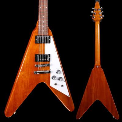 Gibson DSV00ANCH1 Flying V 2020 Antique Natural 261 7lbs 5.4oz for sale