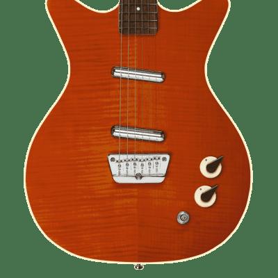 Danelectro '59 Divine 2020 Flame Maple Orange