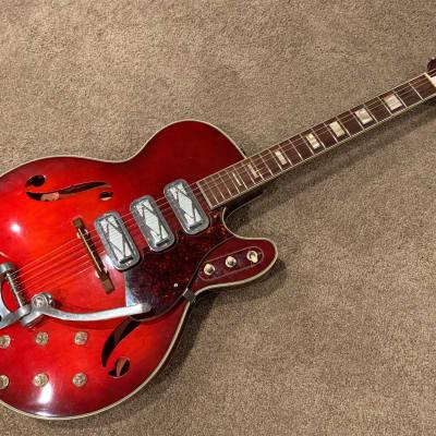 Silvertone 1454 Redburst 1964