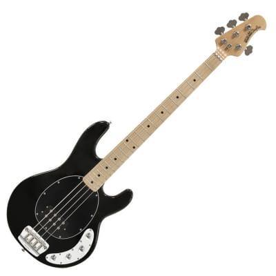 MUSICMAN Stingray 3-EQ Black MN - 4-Saiter E-Bass