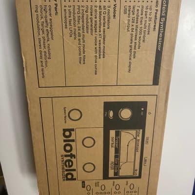 New in Box! Waldorf Blofeld Desktop Black Shadow W/ Waldorf Edition 2LE software (D-Pole/PPG/Attack)