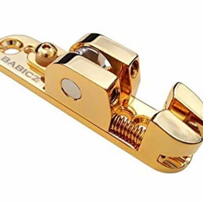 Babicz ORIGINAL SERIES FCH BASS SOLO RAIL SADDLE, gold