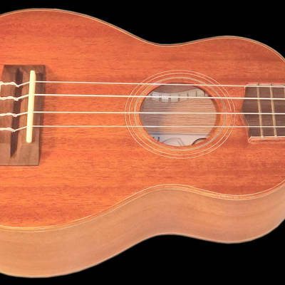 Teton TS20 Soprano Solid Top Mahogany Ukulele ONLY, Matte Finish, Aquila Nylgut Strings