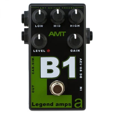 AMT Electronics Legend Amp B1 Distortion