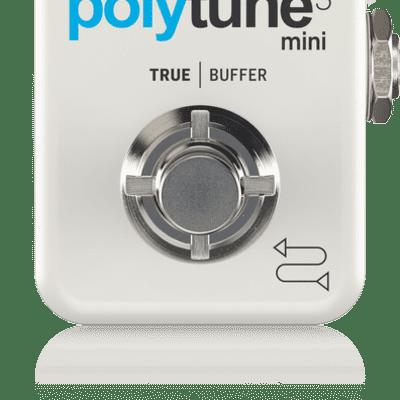 Open Box TC Electronic Polytune 3 Mini Guitar Tuner Pedal w/ Bonafide Buffer