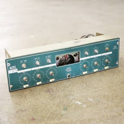 1970s Altec Lansing 1592A Vintage Solid State Mixer Rack Mount Mic Pre - Great Project! image