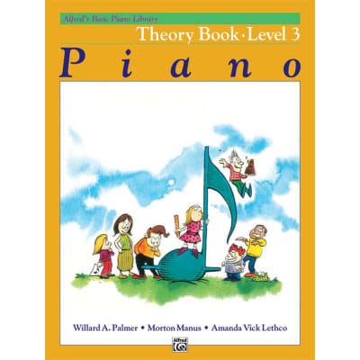 Alfred's Basic Piano Library: Theory Book - Level 3