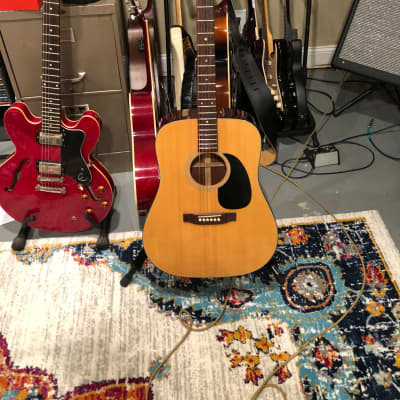 Takamine F-340S Natural 1975 for sale