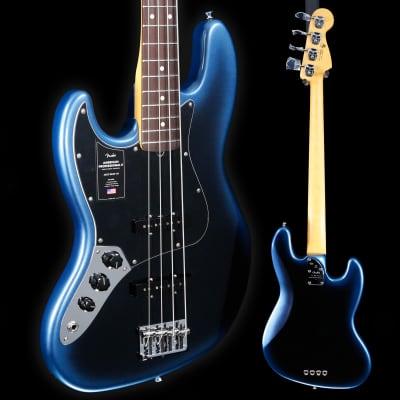 Fender American Professional II Jazz Bass Left-Hand, Rw Fb, Dark Night 9lbs 2.4o