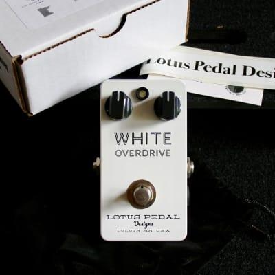 Lotus Lotus Pedal Designs White Overdrive