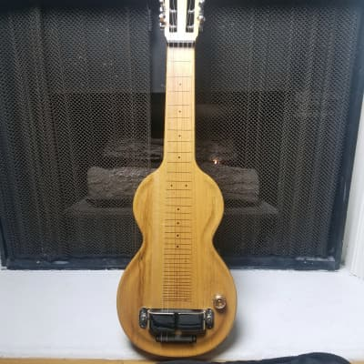 Cole Clark Lap Dog 2 Lap Steel Guitar w/ Case, Horseshoe Pickup-Korina-2000's for sale