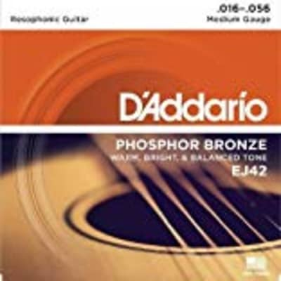 D'Addario EJ42 Resophonic Guitar for sale