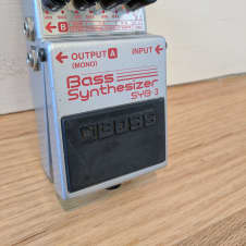 Boss SYB-3 Bass Synthesizer 90's Silver