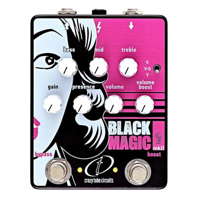 Crazy Tube Circuits Black Magic Mk2 cosmetic blem
