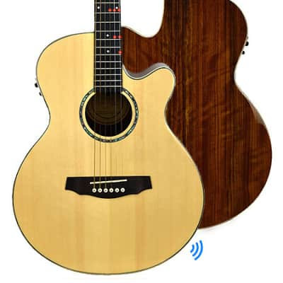 FG-629 Wireless Acoustic/Electric Guitar - FG-629 Natural for sale