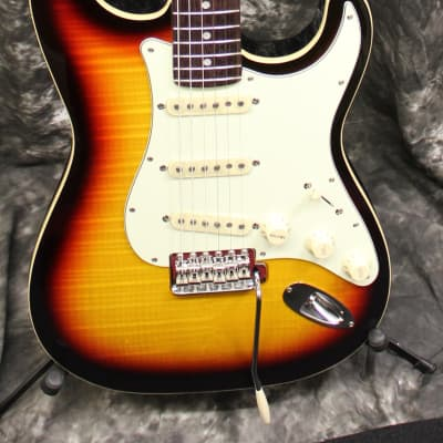 Fender Limited Edition Aerodyne Classic Stratocaster FMT Electric Guitar Sunburst w/Gigbag for sale