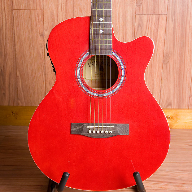 indiana guitar company madison acoustic 2017 electric red reverb. Black Bedroom Furniture Sets. Home Design Ideas