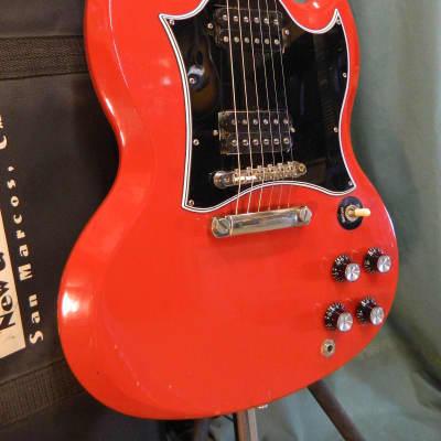 Gibson SG, Ebony Board, 1992 Ferrari Red