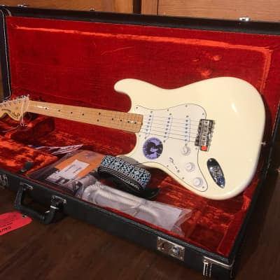 Fender Jimi Hendrix Tribute Stratocaster Mirror w/ Original Case and Candy 1997 for sale