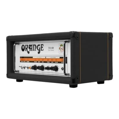 Orange TH100-H BK 100W Twin Chanel Guitar Amplifier Head - Black for sale