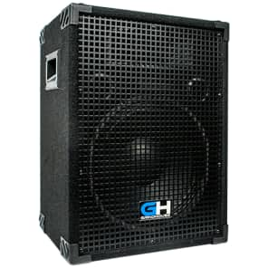 900W 12 Inch Passive PA Speaker For Band DJ Karaoke Church Event Venue Theater