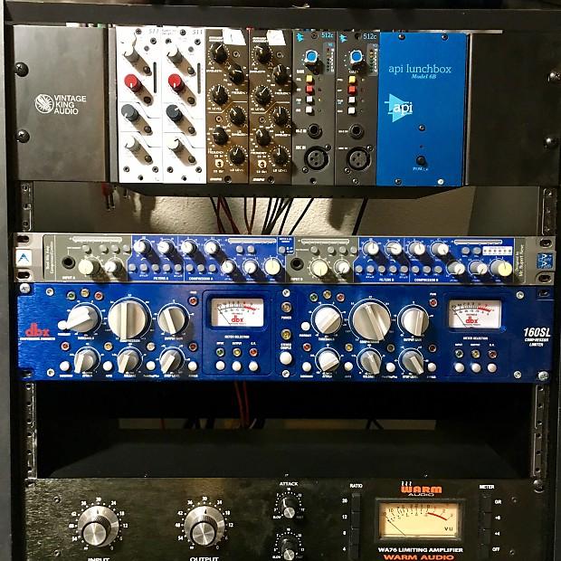 AMEK Pure path CIB (stereo channel in a box) mic pre EQ Compressor