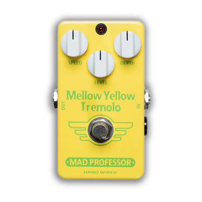 Mad Professor BJF Design Hand-Wired Mellow Yellow Tremolo for sale