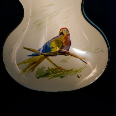Wandre BB  Yellow Bird hand painting for sale