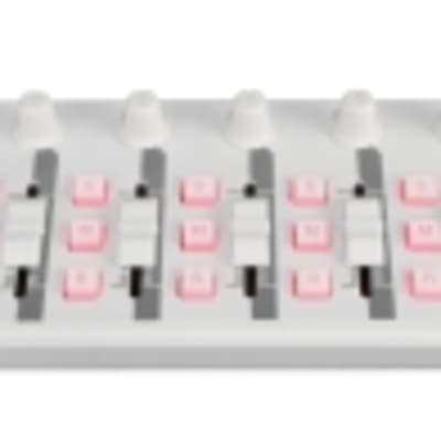 Korg nanoKONTROL2 -White Korg nanoSERIES2 Slim-line USB-MIDI Controller,