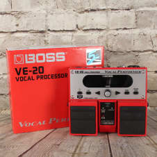 Boss VE-20 Vocal Performer Twin Pedal