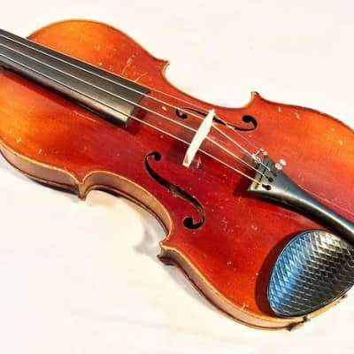 Cremona 1920's Nicolaus Amati Copy Violin Outfit VINTAGE