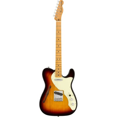 Fender American Original 60s Telecaster Thinline 3-Tone Sunburst MN for sale