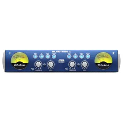 PreSonus Bluetube v2 Dual-Channel Mic / Instrument Preamplifier