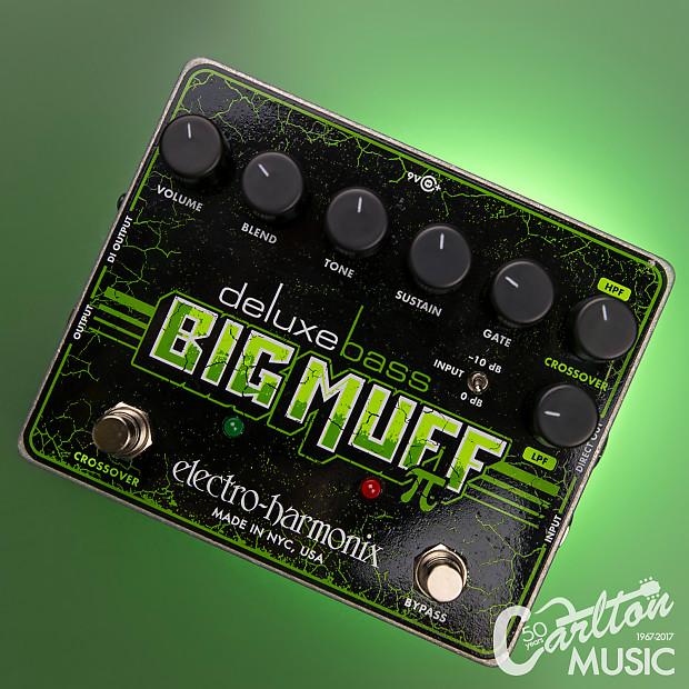 Electro-Harmonix Bass Big Muff Pi Distortion Sustainer Pedal